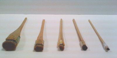 Stencil Brushes (8bu, 5bu, 3bu, 2bu, 1bu)