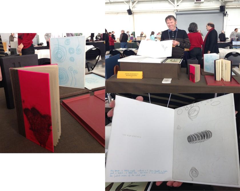 John Demerritt: etchings on KM-03 Surface Gampi White