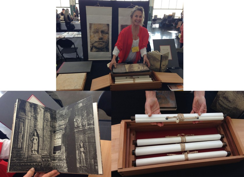 Mary Heebner: Japanese scrolls on IJ Asuka papers