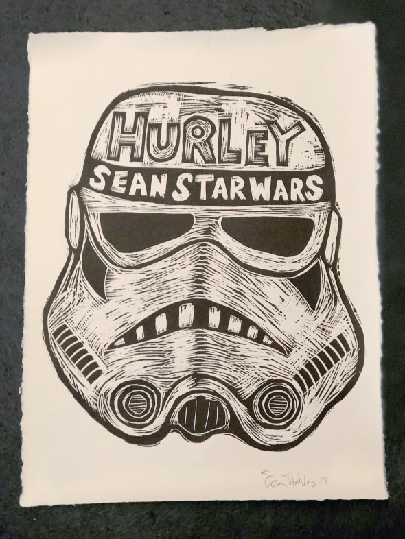 hurley sean print