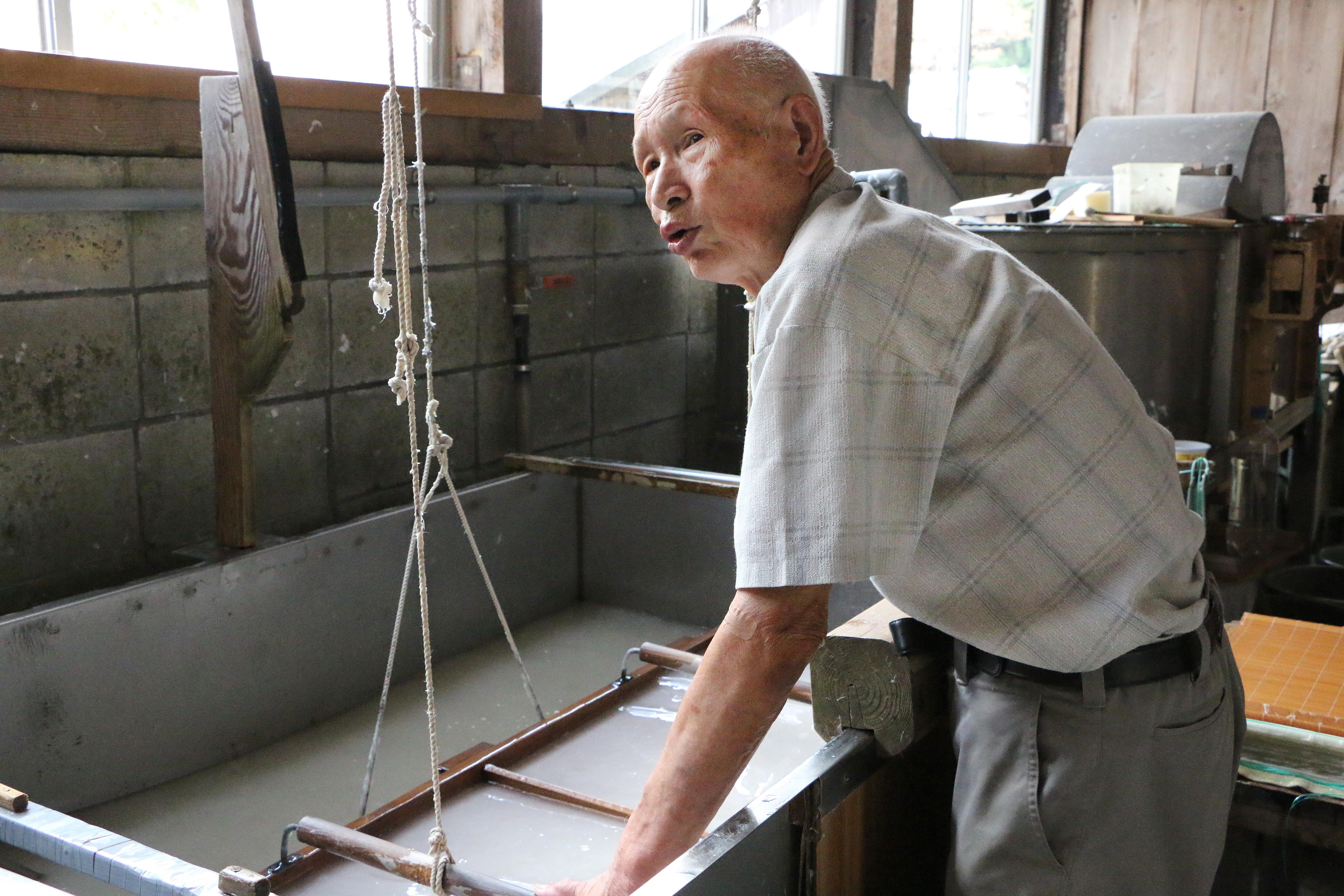 IMG_8050_Ichibei Iwano_National Living Tresure_Kizuki Hosho
